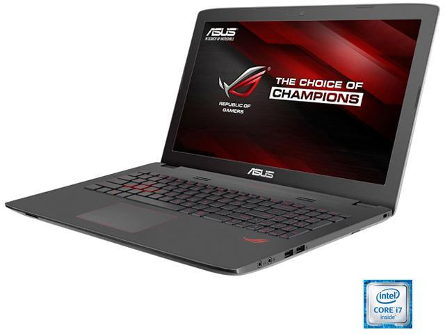 ASUS ROG GL752VW-DH74 Gaming Laptop Intel Core i7 6700HQ (2.60 GHz) 16 GB Memory 1 TB HDD 128 GB SSD NVIDIA GeForce GTX 960M 4 GB GDDR5 17.3