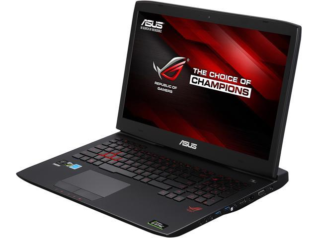"ASUS ROG 17.3"" FHD G-Sync G751JY-VS71(WX) Gaming Laptop Quad Core Intel core i7 4720HQ (2.60 GHz) 16 GB Memory 1 TB HDD NVIDIA GeForce GTX 980M 4 GB GDDR5 Windows 10 Home 64-Bit"