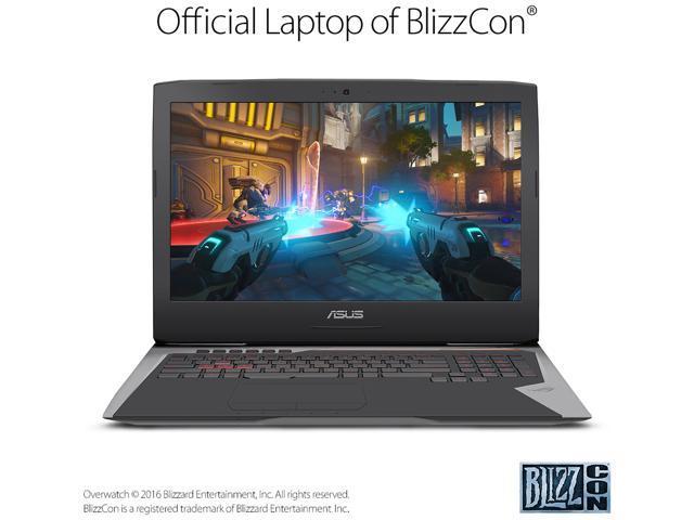 ASUS ROG G752VT-RH71 Gaming Laptop Intel Core i7 6700HQ (2.60 GHz) 16 GB Memory 1 TB HDD NVIDIA GeForce GTX 970M 3 GB GDDR5 17.3