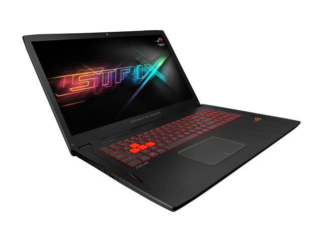 ASUS ROG STRIX  GL702VM-DB71 Gaming Laptop Intel Core i7 6700HQ (2.60 GHz) 16 GB Memory 1 TB HDD NVIDIA GeForce GTX 1060 6GB GDDR5 17.3