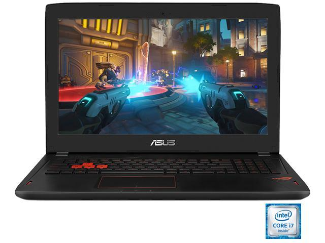 "ASUS ROG STRIX  GL502VS-DB71 Gaming Laptop Intel Core i7 6700HQ (2.60 GHz) 16 GB Memory 1 TB HDD 256 GB SSD NVIDIA GeForce GTX 1070 8 GB GDDR5 15.6"" FHD 1920 x 1080 Windows 10 Home 64-Bit"