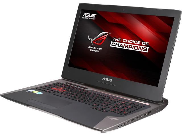 ASUS ROG G752VY-DH72 Gaming Laptop Intel Core i7 6700HQ (2.60 GHz) 32 GB Memory 1 TB HDD 256 GB SSD NVIDIA GeForce GTX 980M 4 GB GDDR5 17.3