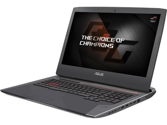 ASUS ROG G752VS-Q72S-CB Gaming Laptop Intel Core i7 6820HK (2.70 GHz) 32 GB Memory 1 TB HDD 256 GB SSD NVIDIA GeForce GTX 1070 8 GB GDDR5 17.3