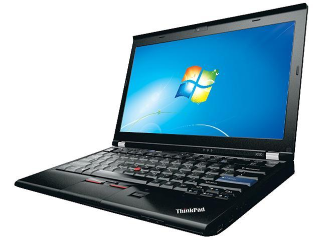 ThinkPad Laptop X Series X220 (42902WU) Intel Core i5 2540M (2.60 GHz) 4 GB Memory 320 GB HDD Intel HD Graphics 3000 12.5