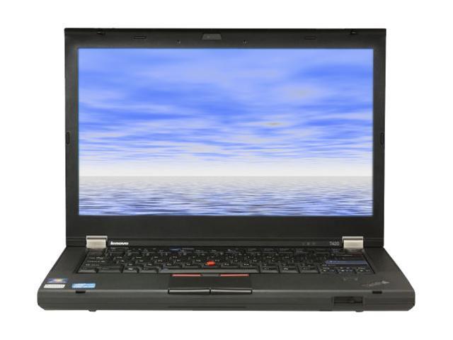 ThinkPad Laptop T Series T420 (418062U) Intel Core i5 2520M (2.50 GHz) 4 GB Memory 320 GB HDD Intel HD Graphics 3000 14.0