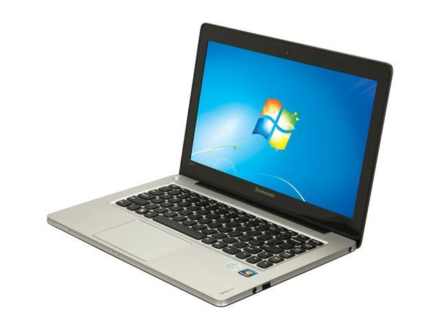 "Lenovo IdeaPad U310 (43752CU) Intel Core i3 4 GB Memory 500 GB HDD 32 GB SSD 13.3"" Ultrabook Windows 7 Home Premium 64-Bit"