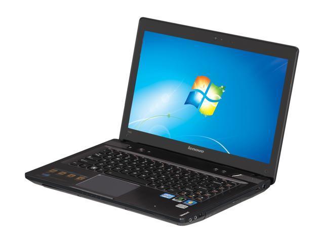 """Lenovo Laptop IdeaPad Y480 (20934EU) Intel Core i5 3210M (2.50 GHz) 6 GB Memory 750 GB HDD NVIDIA GeForce GT 640M LE 14.0"""" ..."""