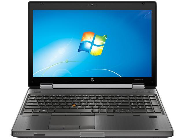 HP Laptop EliteBook 8570w (C6Y87UT#ABA) Intel Core i5 3360M (2.80 GHz) 4 GB Memory 500 GB HDD AMD FirePro M4000 15.6