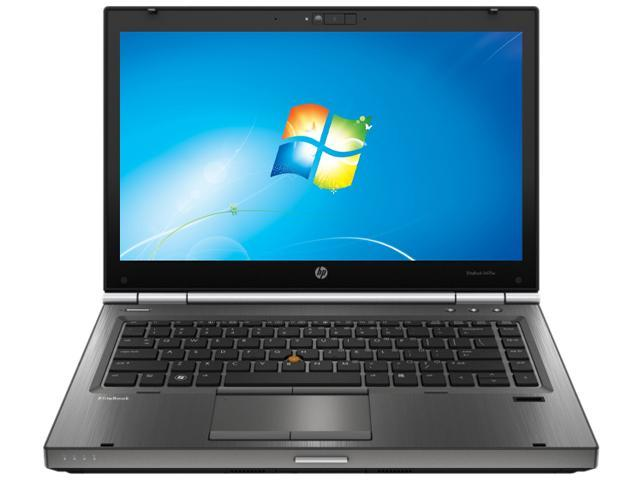 HP Laptop EliteBook 8470w Intel Core i7 3630QM (2.40 GHz) 8 GB Memory 500 GB HDD 128 GB SSD AMD FirePro M2000 14.0