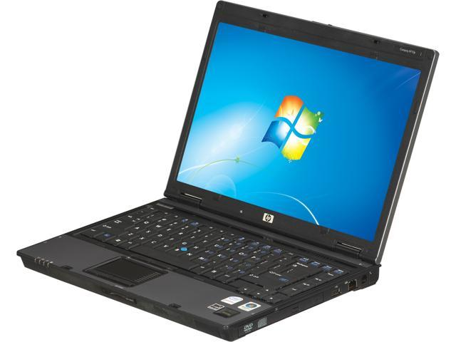 HP Laptop 6910P Intel Core 2 Duo 2.00 GHz 2 GB Memory 160 GB HDD VGA: Yes 14.1