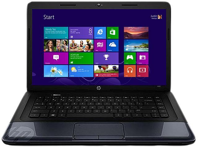 HP Laptop 2000-2b09WM AMD Dual-Core Processor E-300 (1.3 GHz) 2 GB Memory 320 GB HDD AMD Radeon HD 6310 15.6