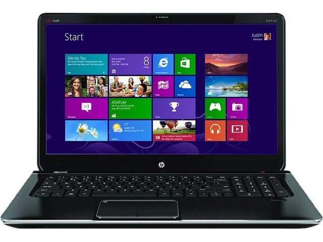 HP Laptop ENVY dv7 dv7-7223cl AMD A8-Series A8-4500M (1.90 GHz) 8 GB Memory 750 GB HDD AMD Radeon HD 7640G 17.3