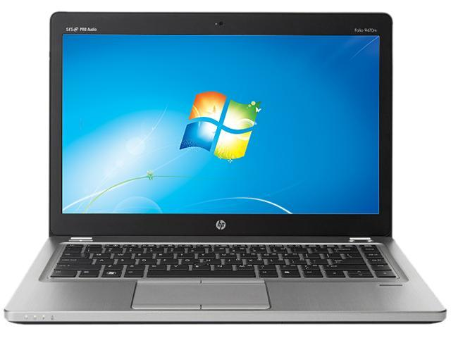 HP EliteBook Folio 9470m Ultrabook Intel Core i7 3667U (2.00 GHz) 180 GB SSD Intel HD Graphics 4000 Shared memory Windows 7 Professional 64-bit