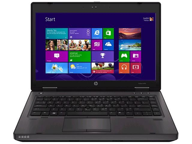 HP Laptop ProBook 6470b Intel Core i5 3rd Gen 3230M (2.60 GHz) 4 GB Memory 500 GB HDD Intel HD Graphics 4000 14.0