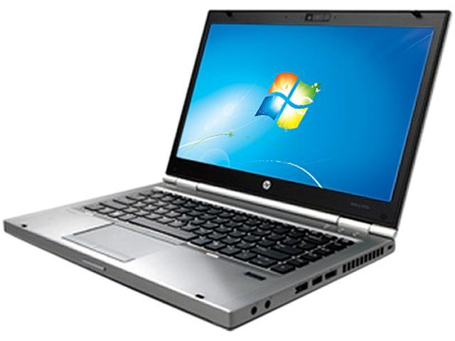 "HP EliteBook 8470p Intel Core i5-3340M 2.7GHz 14.0"" Windows 7 Professional 64-bit Notebook"
