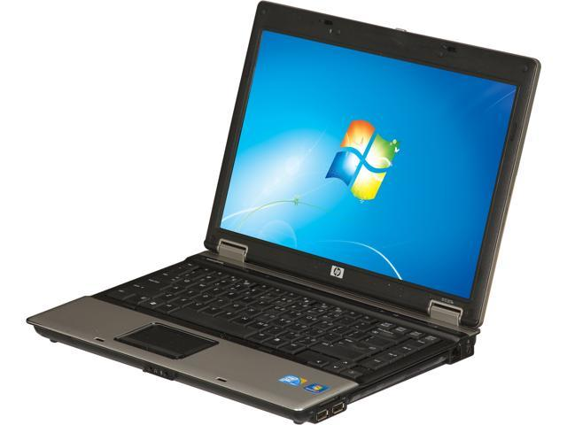 "HP Laptop 6530B Intel Core 2 Duo P8700 (2.53 GHz) 4 GB Memory 160 GB HDD 14.1"" Windows 7 Professional"