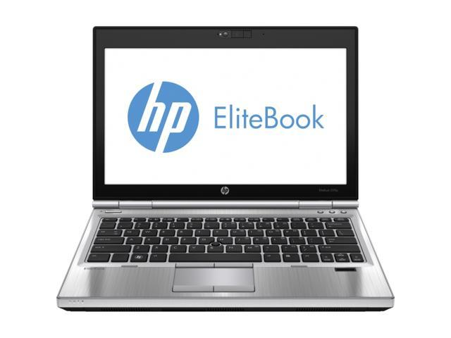 "HP EliteBook 2570p (D2W41AW#ABA ) Notebook Intel Core i5 2.90 GHz 4GB Memory 500GB HDD HD 4000 12.5"" Windows 7 Professional"