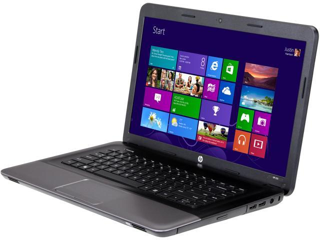 HP Laptop 255 (E3U63UT#ABA) AMD Dual-Core Processor E2-2000 (1.75 GHz) 4 GB Memory 320 GB HDD AMD Radeon HD 7340 15.6