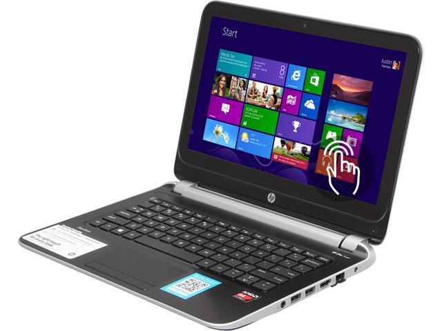 HP Laptop TouchSmart 11-e010nr AMD A4-Series A4-1250 (1.00 GHz) 4 GB Memory 500 GB HDD AMD Radeon HD 8210 11.6