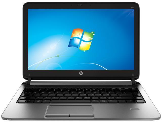 HP ProBook 430 G1 (F2Q46UT#ABA) Notebook Intel Core i5 4200U (1.60GHz) 4GB Memory 128GB SSD Intel HD Graphics 4400 13.3