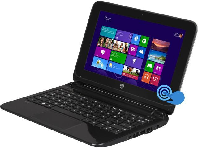 HP Laptop Pavilion 10-e010nr TouchSmart AMD A4-Series A4-1200 (1.00 GHz) 2 GB Memory 320 GB HDD AMD Radeon HD 8180 10.1