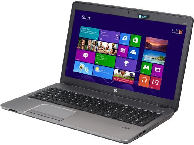 "HP Laptop ProBook 455 G1 (F2P94UT#ABA) AMD A8-Series A8-5550M (2.10 GHz) 4 GB Memory 500 GB HDD AMD Radeon HD 8550G 15.6"" ..."