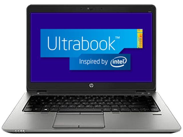 HP Ultrabook EliteBook 840 G1 (E3W27UT#ABA) Intel Core i7 4th Gen 4600U (2.10 GHz) 8 GB Memory 256 GB SSD Intel HD Graphics 4400 14.0