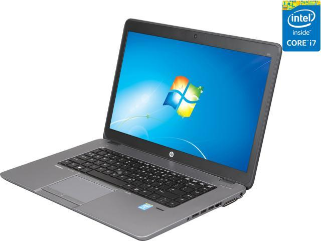 HP Notebooks EliteBook 850 G1 (E3W16UT#ABA) Intel Core i7 4600U (2.10 GHz) 8 GB Memory 500 GB HDD Intel HD Graphics 4400 15.6