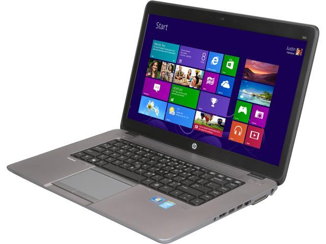 HP Notebooks EliteBook 850 G1 (E3W20UT#ABA) Intel Core i5 4200U (1.60 GHz) 4 GB Memory 500 GB HDD Intel HD Graphics 4400 ...