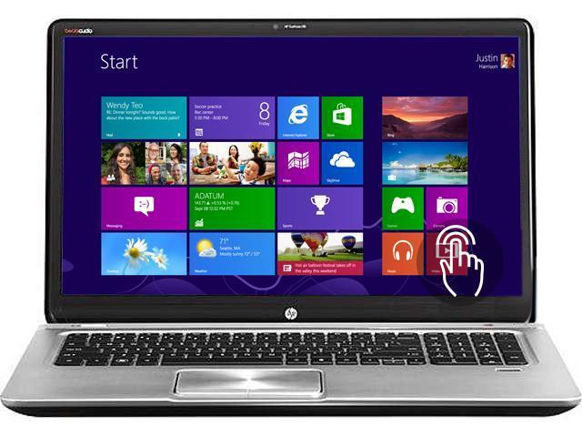 "HP ENVY TouchSmart 17-j023cl 17.3"" Windows 8 Laptop"