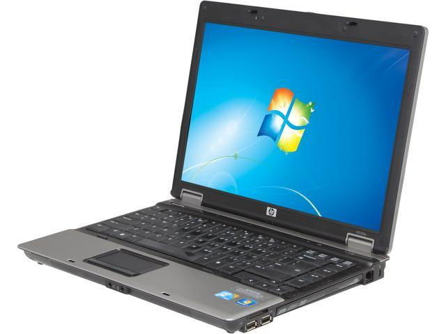 "HP Compaq 6530b 14.1"" Silver Laptop - Intel Core 2 Duo T9600 2.80GHz 4GB SODIMM DDR2 SATA 2.5"" 250GB Windows 7 Professional ..."