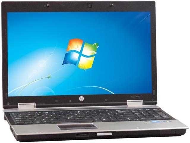 HP Laptop 8540P Intel Core i7 2.66 GHz 4 GB Memory 250 GB HDD Integrated Graphics 15.5