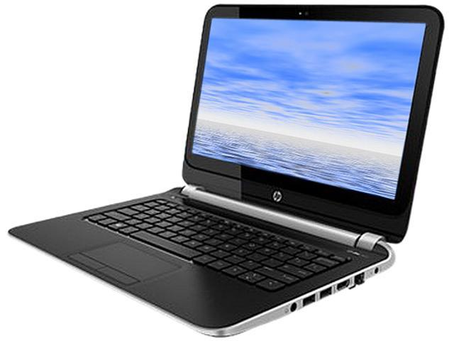 "HP 215 G1 (F2R62UT#ABA) Notebook AMD A-Series A4-1250 (1.00GHz) 4GB Memory 320GB HDD AMD Radeon HD 8210 11.6"" Windows 8.1 ..."