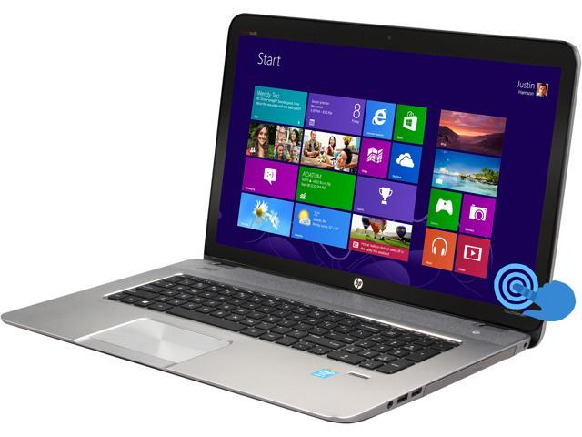 HP Laptop Envy Touchsmart m7-j020dx (HPE4S19UAR) Intel Core i7 4th Gen 4700MQ (2.40 GHz) 8 GB Memory 1 TB HDD Intel HD Graphics 4600 17.3