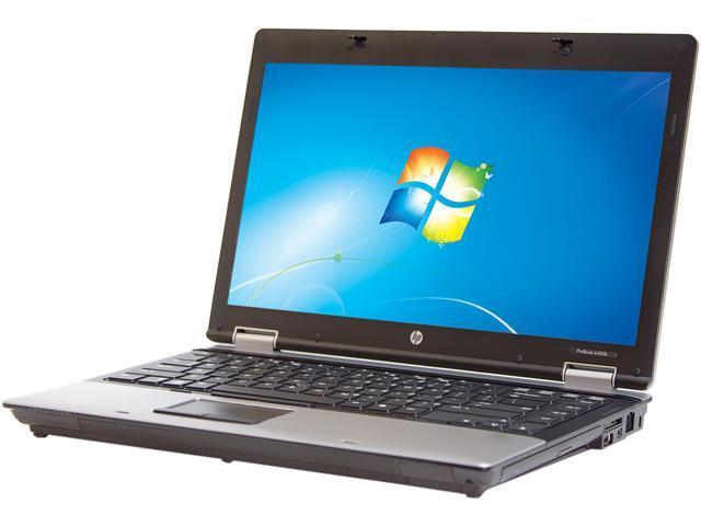 HP Laptop ProBook 6450B Intel Core i5 2.40GHz 4GB Memory 160GB HDD 14.0