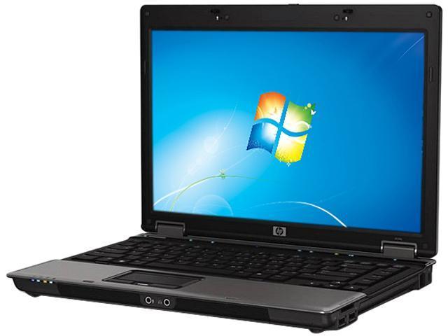"HP Laptop Pavilion 6530b Intel Core 2 Duo 2.40 GHz 2 GB Memory 160 GB HDD Intel GMA 4500MHD 14.1"" Windows 7 Professional"