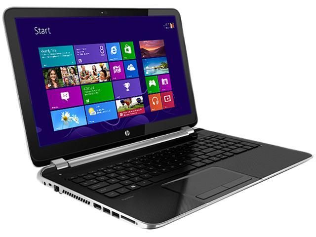 "HP Laptop Pavilion 15-n205nr AMD A6-Series A6-5200 (2.00 GHz) 8 GB Memory 750 GB HDD AMD Radeon HD 8400 15.6"" Windows 8.1 ..."