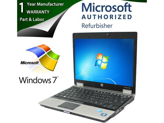 HP EliteBook 2540p Notebook Intel Core i7 640LM (2.13GHz) 4GB Memory 160GB HDD 12.1