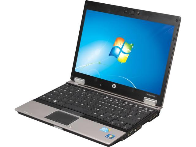 HP Laptop EliteBook 2540p Intel Core i7 2.13 GHz 4 GB Memory 250 GB HDD 12.1