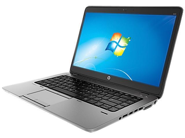 "HP EliteBook 840 G1 (E3W24UTR#ABA) 14.0"" Windows 7 Professional 64-bit (with Win8 Pro License) Laptop"