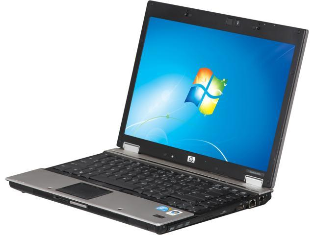 HP 6930P Laptop (B Grade, Scratch and Dent) Intel Core 2 Duo 2.20GHz 2GB Memory 160GB HDD 14.1 Windows 7 Home Premium
