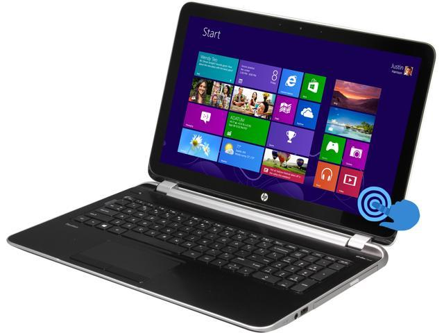 "HP Laptop Pavilion 15-n287cl AMD A10-Series A10-5745M (2.10 GHz) 8 GB Memory 1 TB HDD AMD Radeon HD 8610G 15.6"" Touchscreen ..."