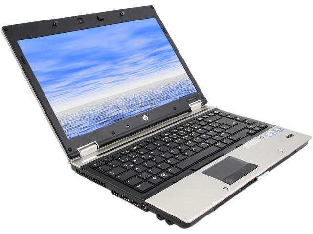 HP 8440P Notebook Intel Core i7 620M Dual-core 2.66GHz 4GB Memory 320GB HDD Windows 7 Professional 64-Bit