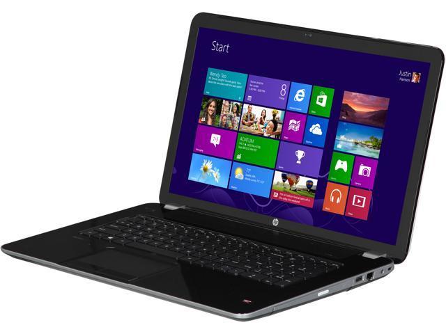 HP Laptop 17-E171NR AMD A10-Series A10-5750M (2.50 GHz) 12 GB Memory 1 TB HDD AMD Radeon HD 8670M 17.3