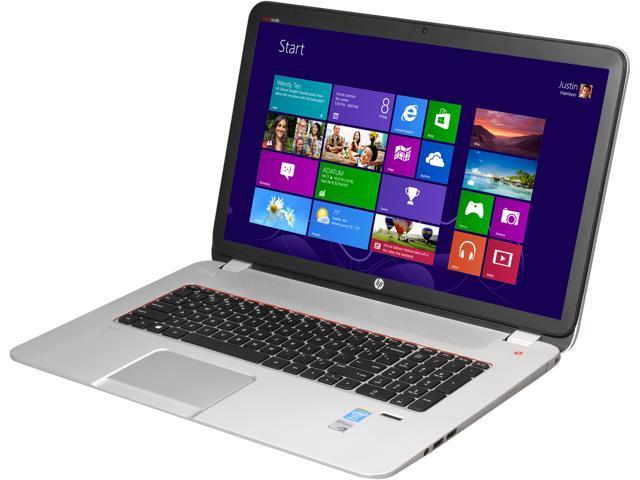 HP Laptop ENVY 17 17t-j100 Intel Core i7 4700MQ (2.40 GHz) 8 GB Memory 1 TB HDD Intel HD Graphics 4600 17.3