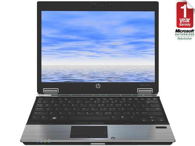 HP Laptop 2540P Intel Core i7 2.13 GHz 4 GB Memory 250 GB HDD 12.0