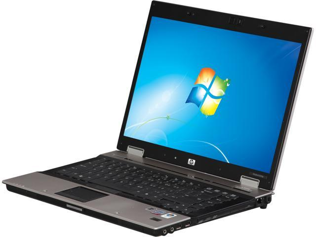 "HP EliteBook 8530P Refurbished Off Lease 15.4"" Notebook with Intel Core 2 Duo 2.40GHz, 4GB Memory, 160GB HDD, DVDRW, Windows 7 Home 64-Bit"
