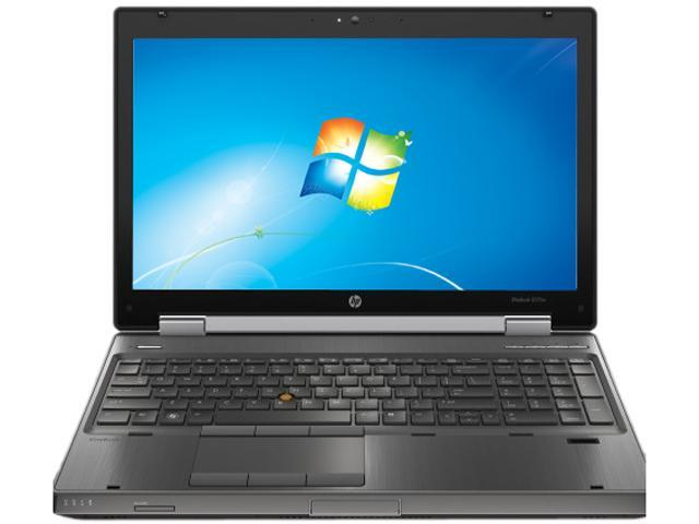 HP EliteBook 8570W (G4U69U8#ABA) Mobile Workstation Intel Core i7 3520M (2.90 GHz) 8 GB Memory 500 GB HDD NVIDIA Quadro K1000M 15.6