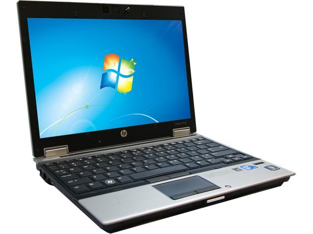 HP Laptop 2540P Intel Core i7 2.13 GHz 4 GB Memory 160 GB HDD 12.1