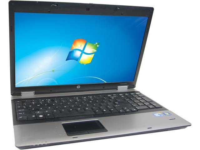 HP Laptop 6550B Intel Core i5 520M (2.40 GHz) 4 GB Memory 128 GB SSD 15.6